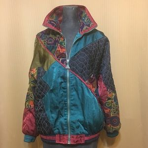 Petite Small Vintage 80's Jacket. Casual isle Gold